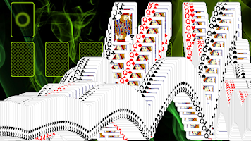 Screenshot of Pyramid Golf Solitaire