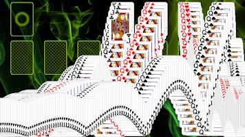 Screenshot of Pyramid Golf Solitaire