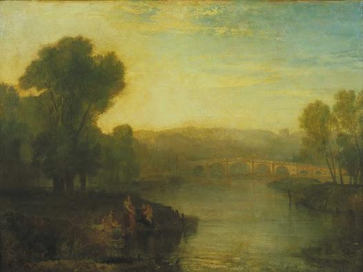 Turner Joseph, Richmond Hill e ponte