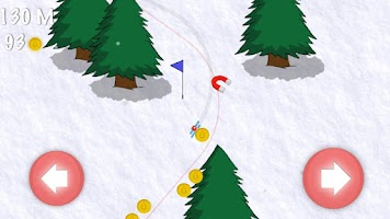 Screenshot of Extreme Ski Race Adventure