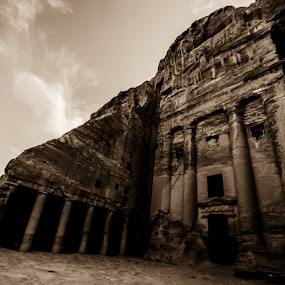 Wandering in wonder by Ethan Fox Miles - Buildings & Architecture Public & Historical ( must see, jordan, buildings, travel, architecture, sacred, petra,  )