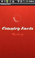 Screenshot of Country Facts Turkey