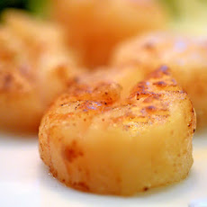 Alton Brown's Seared Sea Scallops
