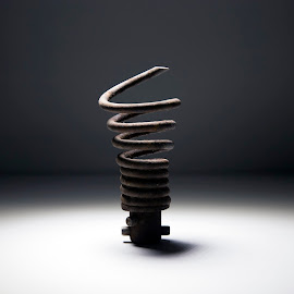 Alien Landing Spring by Steven Strobel - Artistic Objects Other Objects