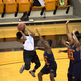 Mercer Camp by Prentice Bethea - Sports & Fitness Basketball ( ladies basketball )