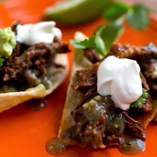 Short Rib Chili Nachos