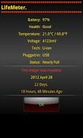 Screenshot of LifeMeter