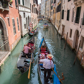 by Gi Po - Transportation Boats ( gondola, venice, channel )