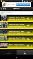 Screenshot of Valentino Rossi Collection