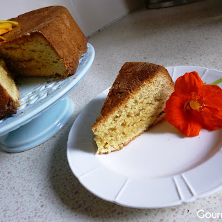 Vegan Spiced Tahini and Orange Cake aka Tahinopita