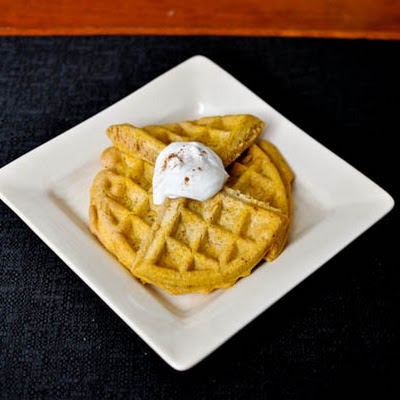 Whole Wheat Butternut Waffles