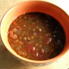 Speedy, Spicy Lentil Soup