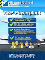 Screenshot of FAA A&P Powerplant Test Prep