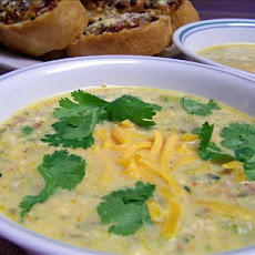 Cream of Jalapeno Soup