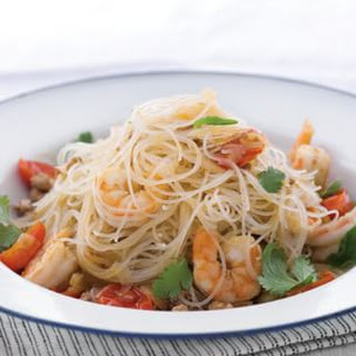 Cellophane Noodles with Shrimp and Garlic