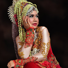 Red Bride by Eko Januriyanto - Wedding Bride