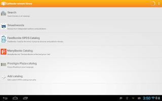 Screenshot of EpiReader