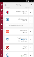 Screenshot of Bendigo Bank