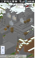 Screenshot of MineMapi Minecraft Map