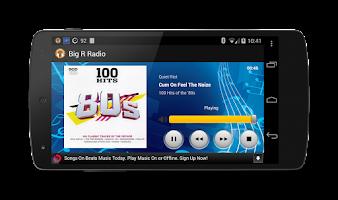 Screenshot of Classic Rock Radio