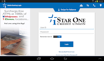 Screenshot of Star One Mobile Banking