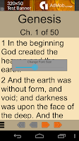 Screenshot of Bible