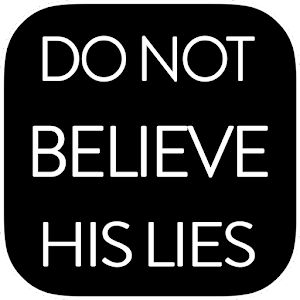 Cover art Do Not Believe His Lies
