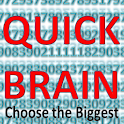 QuickBrain -Choose the Biggest icon