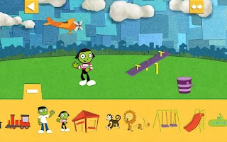Screenshot of PBS Parents Play & Learn HD