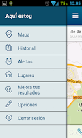 Screenshot of Aquí estoy de Movistar