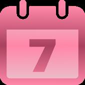 Menstrual Ovulation Calendar
