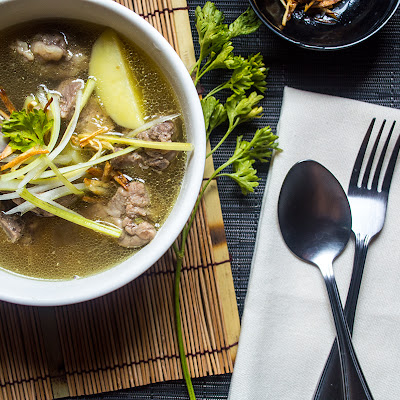 Pork Ribs Celery Soup