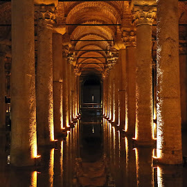 basilica cistern III by Almas Bavcic - Buildings & Architecture Other Interior