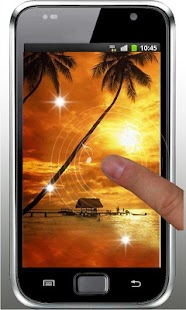 Beach Tropical Live Wallpaper - screenshot