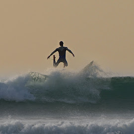Wipeout by James Walsh - Sports & Fitness Surfing ( surfing )
