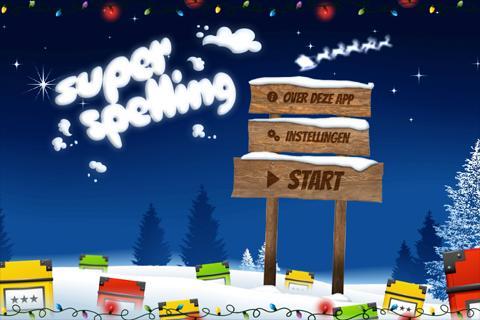 Super Spelling Winter Kerst