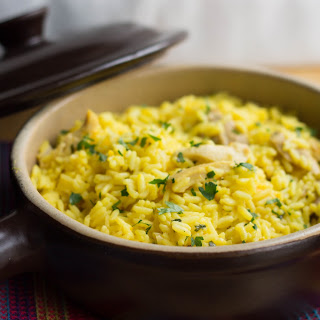 Chicken & Saffron Rice