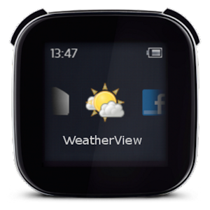 WeatherView for LiveView