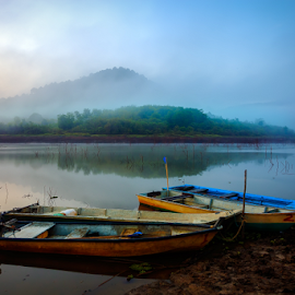 ... scenario of Tasik Beris by Keris Tuah - Landscapes Mountains & Hills ( canon, color, landscape, keristuah )