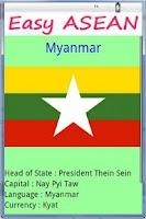 Screenshot of Easy ASEAN