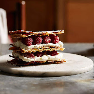 Raspberry Millefeuilles (millefeuilles Aux Framboises)