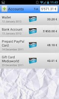 Screenshot of My Expenses Free