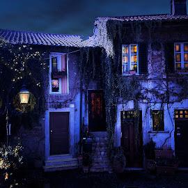 blue by Aurora Boreale - Digital Art Places ( story, dream, blue, light )
