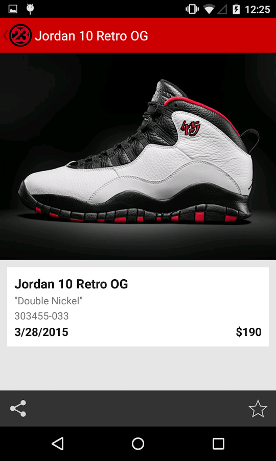 J23 - Jordan Release Dates Screenshot 1