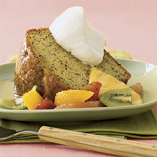 Orange Poppy Seed Butter Cake with Citrus Salad