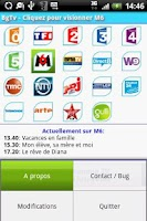 Screenshot of BgTv - (Tv Bouygues Tel.)