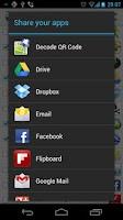 Screenshot of AppShare