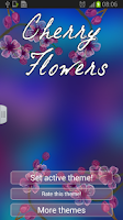 Screenshot of Cherry Flowers Keyboard
