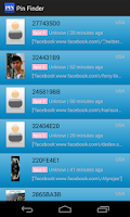 Screenshot of PIN Finder For BBM