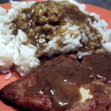 Chicken with Rice and Gravy